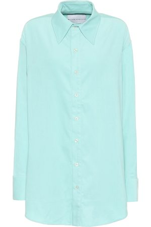 MATTHEW ADAMS DOLAN Cotton-corduroy oversized shirt