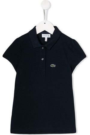 Lacoste Short-sleeved logo patch polo shirt