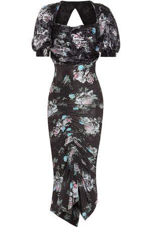 THORNTON BREGAZZI Gizzy floral midi dress
