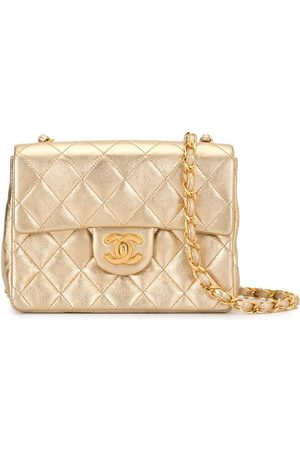 CHANEL Diamond quilted chain shoulder bag