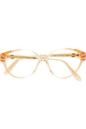 Yves Saint Laurent 1990s round glasses