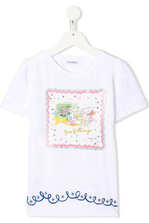 Simonetta Graphic print T-shirt