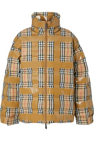 Burberry Checked down jacket