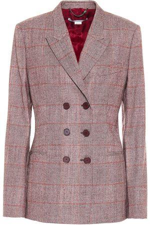 Stella McCartney Double-breasted wool-blend blazer