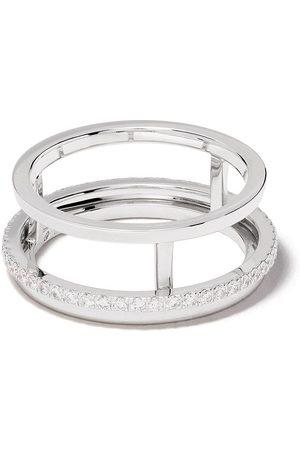 De Beers 18kt The Horizon diamond ring
