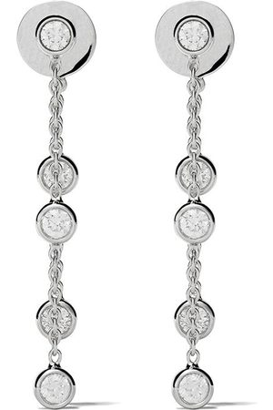 De Beers 18kt My First five diamond earrings