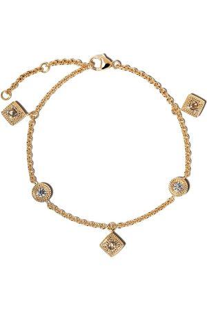 De Beers 18kt Talisman diamond charm bracelet