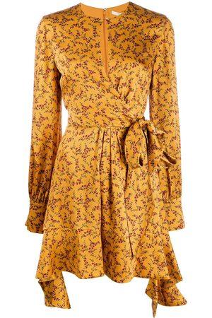 JONATHAN SIMKHAI Women Printed Dresses - Printed ruffle dress