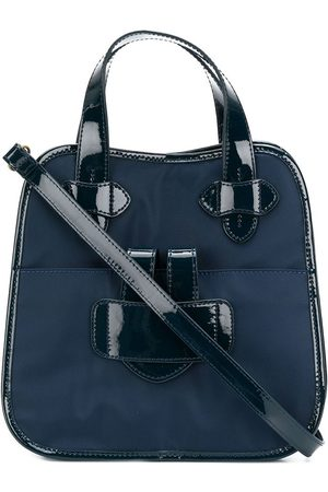 Tila March Women Tote Bags - Zelig small contrast trim tote