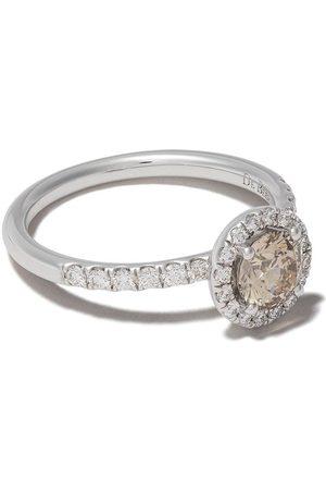 De Beers Women Rings - 18kt Aura fancy coloured diamond ring