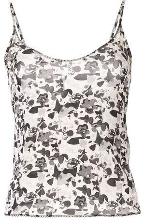CHANEL Women Camisoles - Floral logo camisole