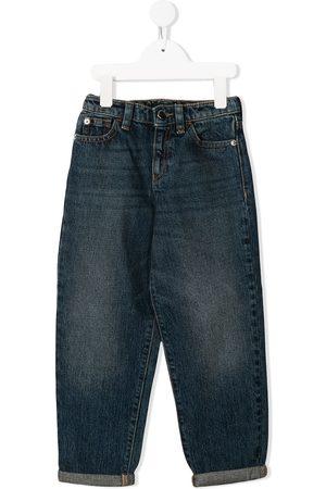 Emporio Armani Logo straight-leg jeans