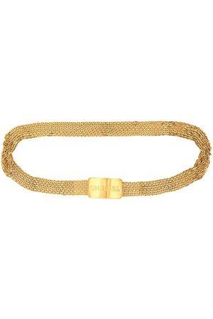 CHANEL Buckle charm bracelet