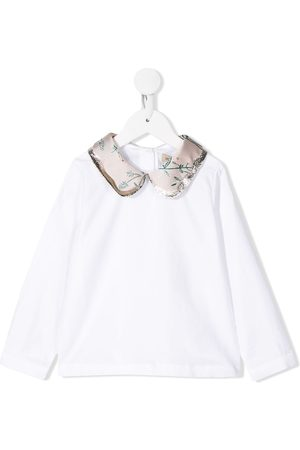 HUCKLEBONES LONDON Scalloped collar blouse