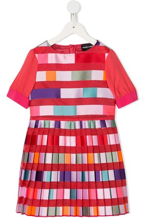 Emporio Armani Pleated ribbon dress