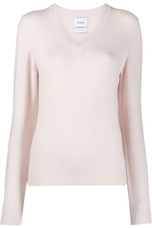 Barrie Women Jumpers - V-neck cashmere sweater