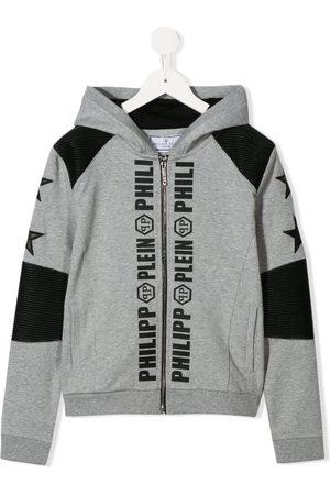 Philipp Plein Boys Hoodies - Logo print hoodie