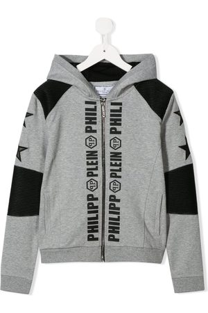 Philipp Plein Logo print hoodie