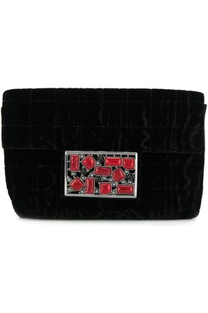 CHANEL Women Clutches - Embellished plaque clutch