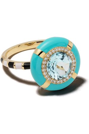 Nevernot 18kt gold diamond Show N Tell Ready To Celebrate ring