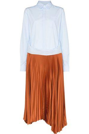 Plan C Women Casual Dresses - Two-in-one shirt dress
