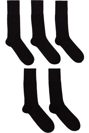 CDLP Five pack wool logo sock set