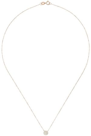 Dana Rebecca Designs 14kt Lauren Joy mini disc diamond necklace
