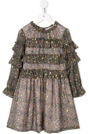 Velveteen Luna party dress