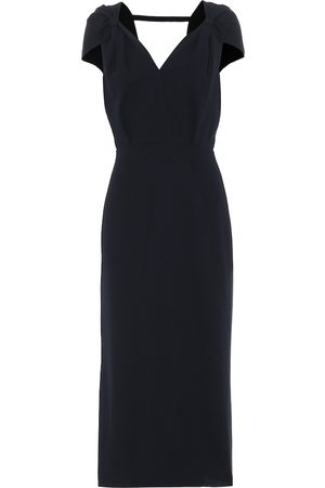 Roland Mouret Eclipse wool-crêpe midi dress