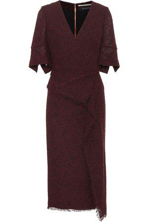 Roland Mouret Marengo wool-blend midi dress