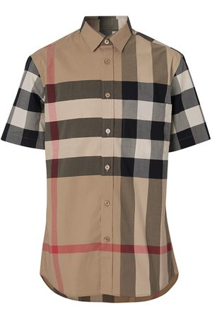 Burberry Classic check short sleeved shirt