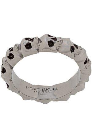 NORTHSKULL Medius skull band ring