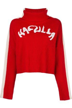 HACULLA Logo Nouveau ribbed jumper