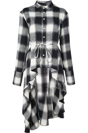 HACULLA Signature woven checked shirt dress