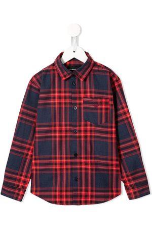 Emporio Armani Check print shirt