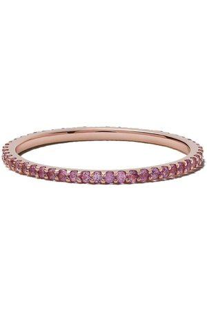 White Bird 18kt rose gold Solange sapphire ring
