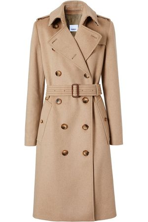 Burberry Women Trench Coats - Cashmere trench coat