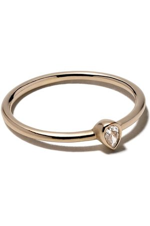 White Bird 18kt gold diamond Camille ring