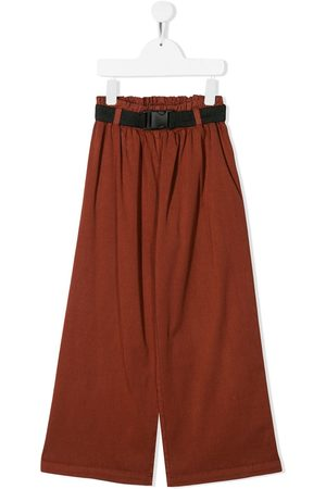 Le pandorine Loose-fit flared trousers