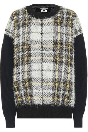 JUNYA WATANABE Checked wool-blend sweater