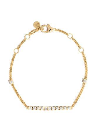 ALINKA 18kt yellow RIVIERA diamond bracelet
