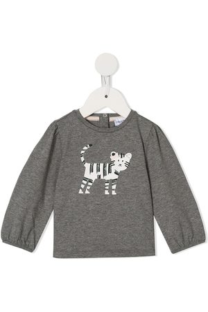 Emporio Armani Cat print sweatshirt