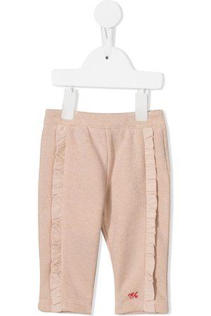Emporio Armani Ruffle-trimmed trousers