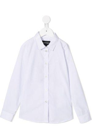 Emporio Armani Pleated panel shirt