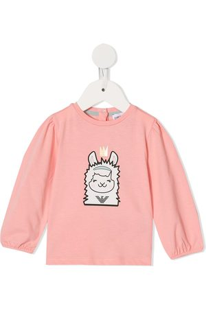 Emporio Armani Sheep print sweatshirt