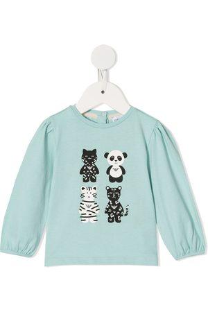 Emporio Armani Four animal print sweatshirt