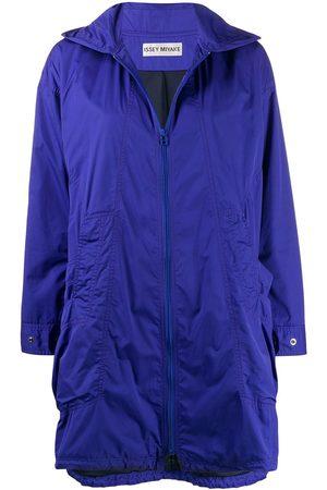 Issey Miyake 2000s hooded raincoat