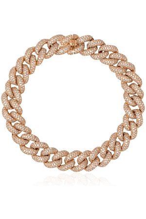 Shay 18kt yellow diamond chunky chain bracelet