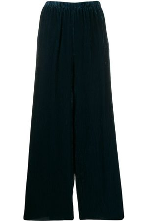 FORTE FORTE Textured palazzo trousers