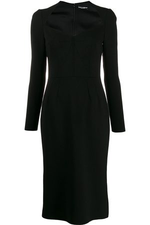 Dolce & Gabbana Long sleeve pencil dress